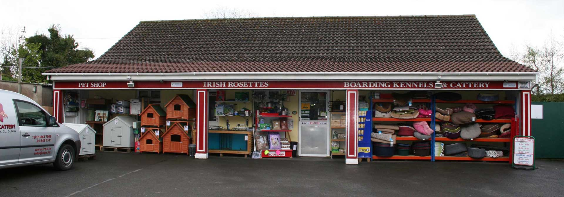 Irish Rossette Pet Store
